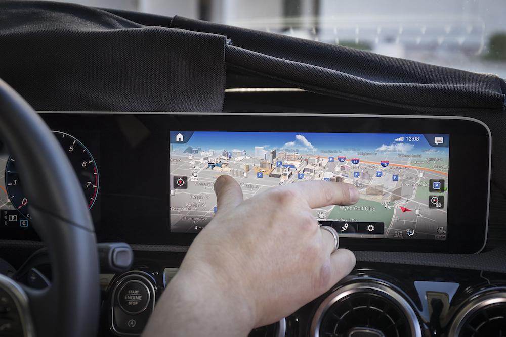 Weltpremiere des intuitiven und lernfähigen Multimediasystems MBUX – Mercedes-Benz User Experience, das 2018 in der neuen A‑Klasse in Serie geht. (Quelle: Mercedes-Benz)