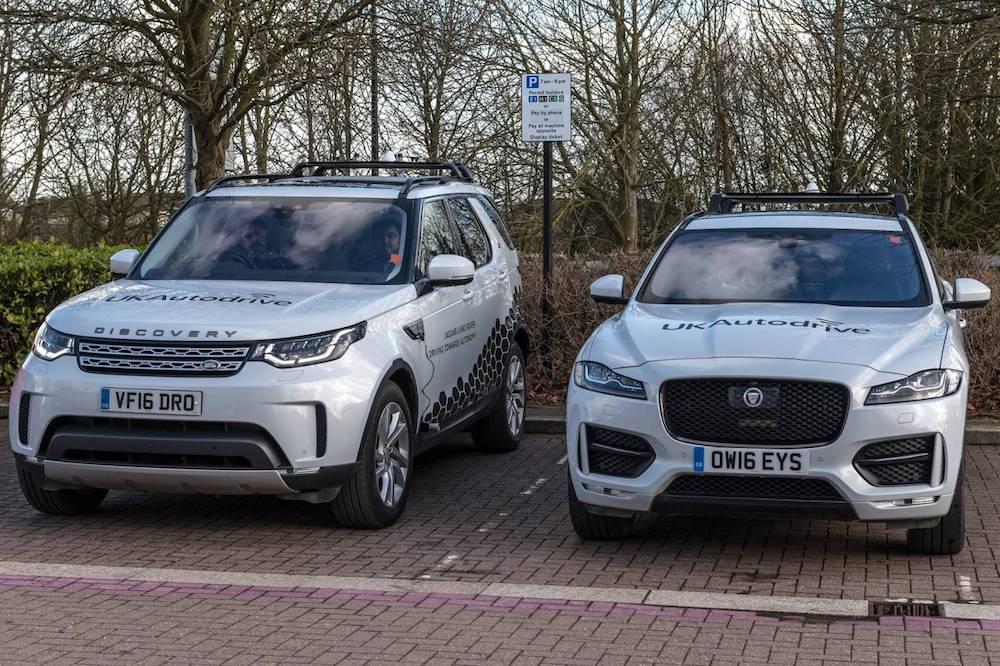 Die Erprobungen sind ein weiterer Schritt von Jaguar Land Rover in Richtung selbstfahrender Autos als tägliche Realität (Quelle: Jaguar Land Rover)